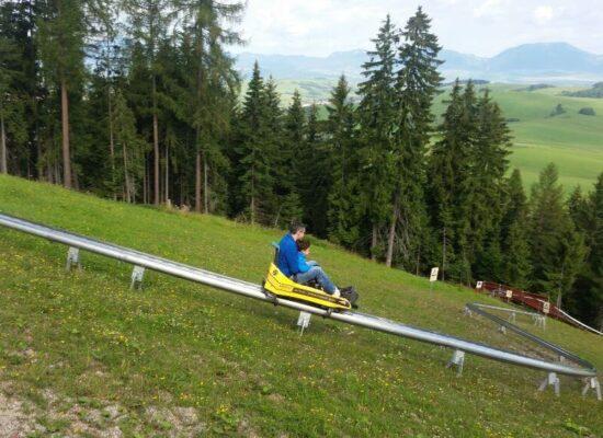 מגלשת הרים חופוק טטרה נמוכים סלובקיה טיול משפחתי