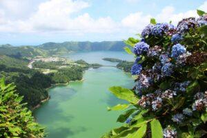 סאו מיגל Sete Cidades תכנון טיול בהתאמה אישית לאיים האזוריים