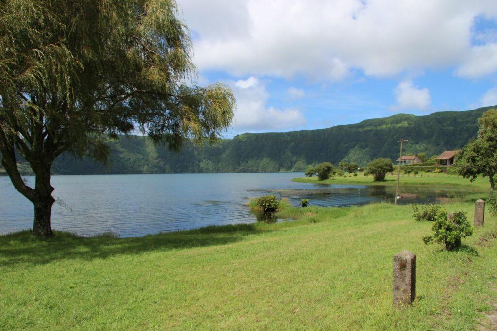 סאו מיגל Sete Cidades האיים האזוריים azores