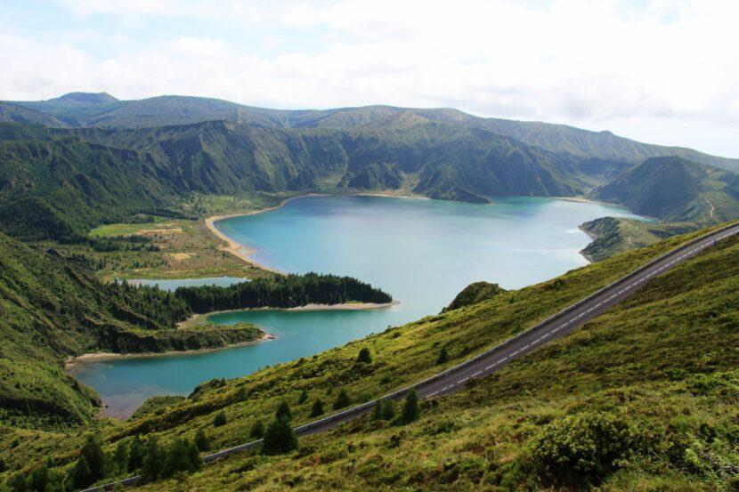 אגם פוגו fogo תכנון טיול בהתאמה אישית האיים האזוריים