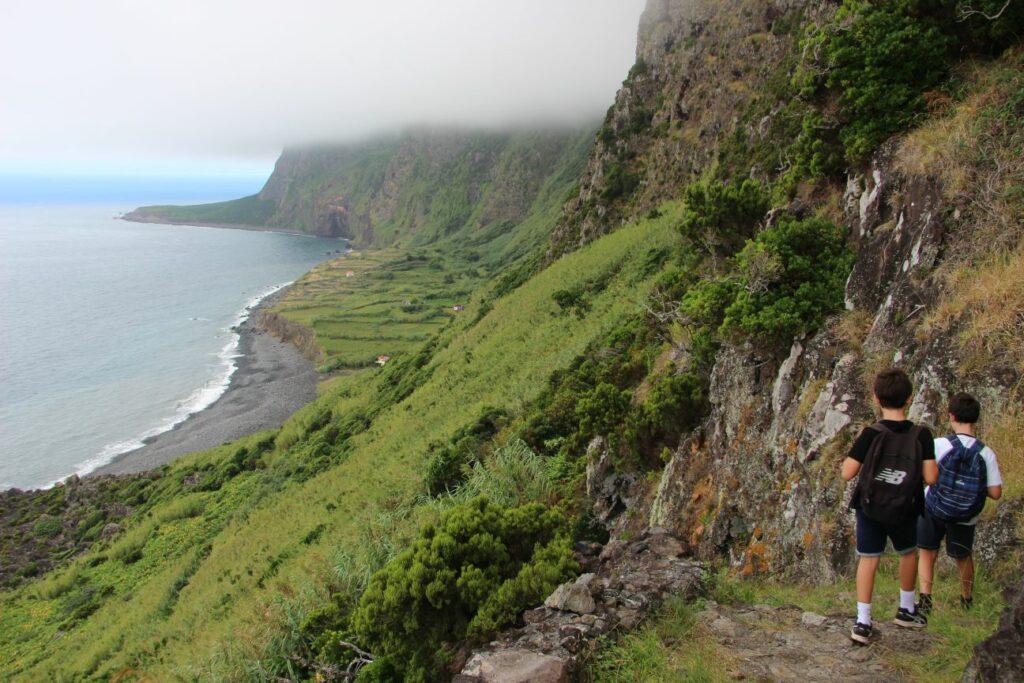 פלורס Faja de Lopo Vaz האיים האזוריים