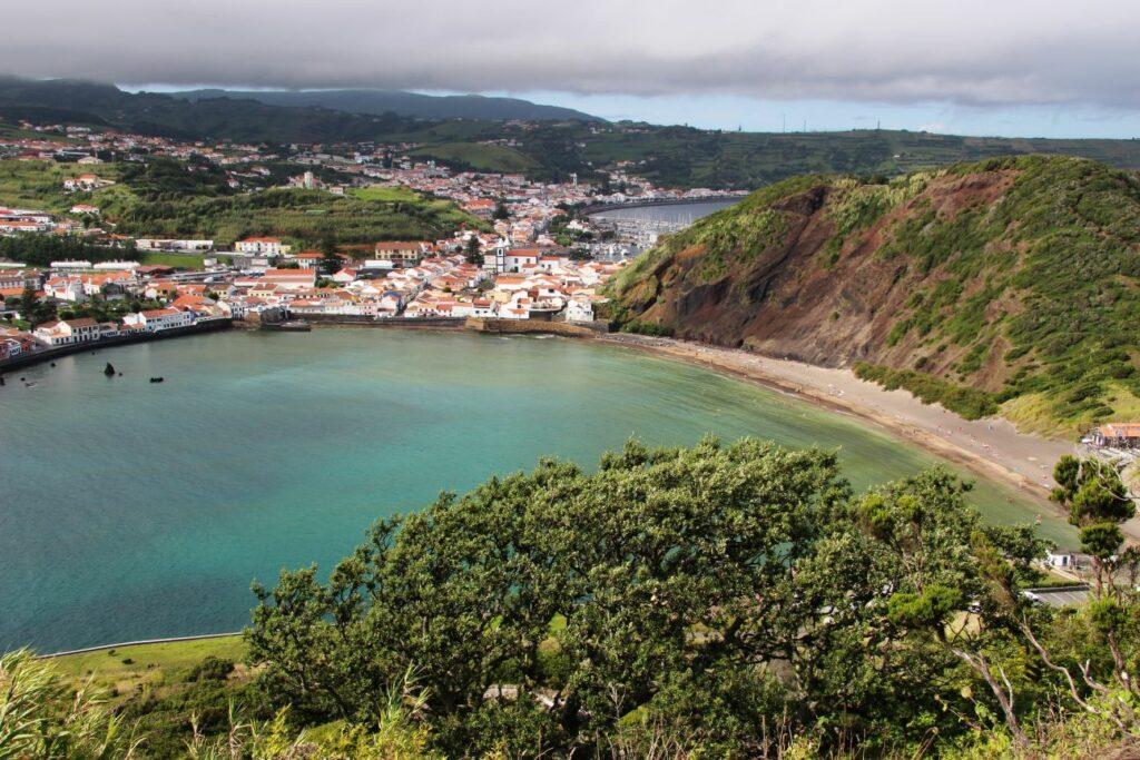 פאיאל הר געש חורטה האיים האוזריים azores