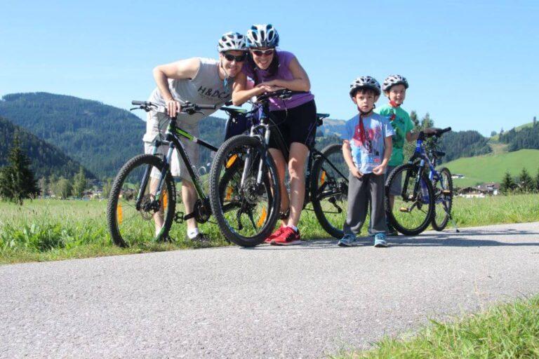 פלכאו רכיבת אופניים תכנון טיול אוסטריה משפחתי עם ילדים