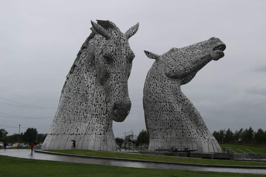 Kelpies סקוטלנד
