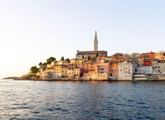 Canva - Rovinj on the Coast of Adriatic Sea